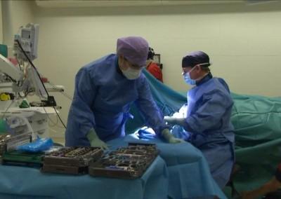 Leikkaussali Helsinki Hospital